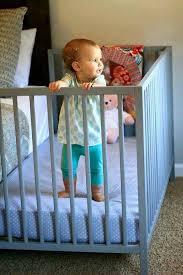 crib next to bed diy baby furniture