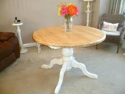 literarywondrous pine round dining table shabby chic solid pine round extending dining table in original white