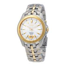 men s perpetual calendar two tone silver and gold tone stainless men s perpetual calendar two tone silver and gold tone stainless steel silver dial seiko shop by brand world of watches