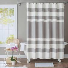 bathroom shower black and ivory shower curtain shower curtain