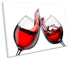 cheers wine glasses. Perfect Cheers Image Is Loading WineGlassesKitchenCheersSINGLECANVASWALLART Throughout Cheers Wine Glasses E