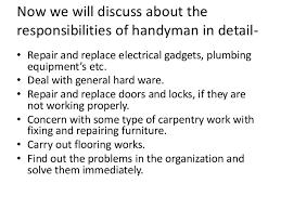 Handyman Resume Example; 4.