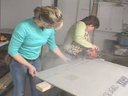 cut cement board to size