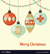 hanging christmas ornaments vector.  Vector In Hanging Christmas Ornaments Vector C