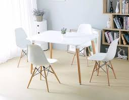 minimalist modern furniture. minimalist modern design dining furniture set 1 table 4 chairs plastic chair wooden d