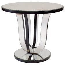 art deco mirrored furniture. french art deco mirrored side table 1 furniture s