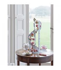 spiral staircase cupcake stand