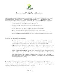 Landscaping Contract Sample Template Free Skincense Co