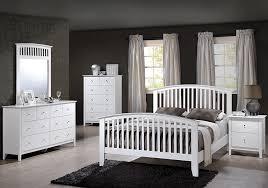 Lawson White Full Panel Bedroom Set