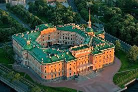 The Mikhailovsky (St. Michael's) Castle in St. Petersburg, Russia
