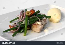 Grilled Tuna Steak Nicoise Salad Aioli ...