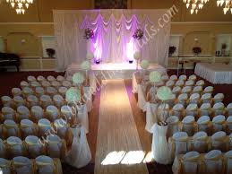 Wedding Ceremony Decorations Chair Covers Rental Wedding Decorations Chicago Ceremony Decorations