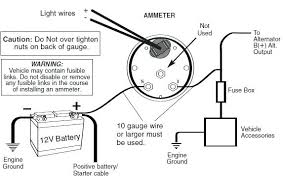 ammeter gauge waves competition series white test wiring diagram ammeter gauge auto wiring diagram library shunt reading repair