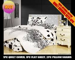 100 cotton polka dots doona duvet covers set bedroom sets home textile 4piece in full