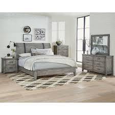 california king bed. Rustic Casual Gray 6 Piece California King Bedroom Set - Nelson | RC Willey Furniture Store Bed