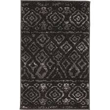 home decorators collection tribal essence black 3 ft x 5 ft area rug