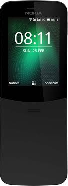 Мобильный <b>телефон Nokia 8110</b> DS TA-1048, черный