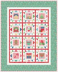 Bee In My Bonnet: Cozy Christmas Sew Along - Week One - Block One ... & Quilt Kit includes Cozy Christmas fabric for the x quilt top and binding.  You will need to order the Cozy Christmas Sew Sim Adamdwight.com