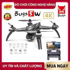 [ PHIÊN BẢN MỚI ] Flycam MJX Bugs 5W [ 4K ] WIFI FPV 5G - Động cơ không  chổi than, Camera 4K cao cấp