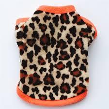 Kočka Pes Kabáty Trička Mikina Oblečení Pro Psy Leopard černá