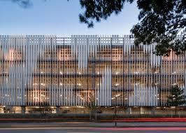 office facade. 3xn completes copenhagen hospital building with slanted walls office facade