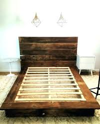 Rustic King Bed Frame Pine Size Cal Frames Pi – idego