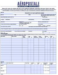 Download Aéropostale Job Application Forms | Pdf Templates Wikidownload