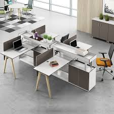cheap office partitions. High Quality Cheap 4 Seater Office Modular Workstation Wooden Furniture Partition Buy PartitionOffice WorkstationModular Partitions L