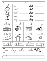 Phonetic quizzes as worksheets to print. Image Result For Free Sh Sound Worksheets Pdf Blends Worksheets Phonics Worksheets Kindergarten Worksheets