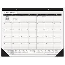 Year At A Glance Calendars Ruled Desk Pad 22 X 17 2020