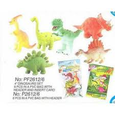 <b>Игрушка</b> P2612/6 н-р <b>динозавров</b> 6 шт.в пакете <b>Wing Crown</b> /0 /0 ...