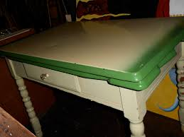 Retro Metal Kitchen Table Vintage Metal Kitchen Tables Mishistoriasdeterror