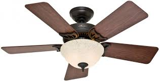 ceiling fan with light kit indoor downrod close mount 5 blade 42 in bronze new 49694510143