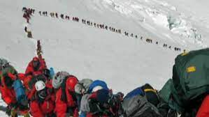 How Mt Everest has become the highest, angriest traffic jam in the world