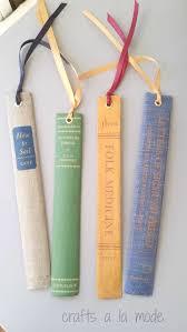 diy vine book spine bookmarks