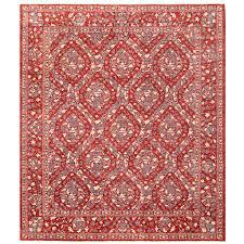 afghan hand knotted vegetable dye william morris wool rug