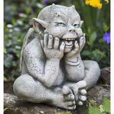 photo 1 of 9 campania international oscar the gargoyle cast stone garden statue garden statues at hayneedle marvelous