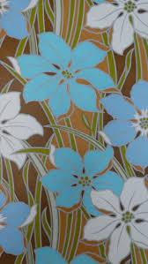 Blauwe En Witte Bloemen Funkywalls Dé Webshop Voor Vintage En