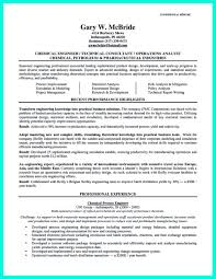 Engineering Professional Resume Nice Successful Objectives In Chemical Engineering Resume Check 15