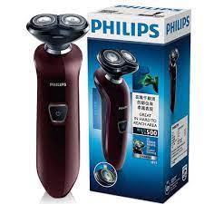 Philips Không Thấm Nước Máy Cạo Râu Điện Ướt/Khô Twin Blade Có Thể Sạc Lại  Người Đàn Ông của Dao Cạo Với Chỉ Thị LED Mặt Chăm Sóc Máy S511|Electric  Shavers