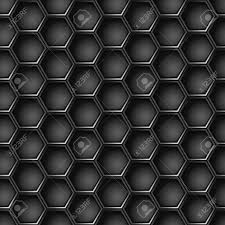 Metal Pattern New Seamless Geometric Pattern Of Hexagons Metal Background Royalty