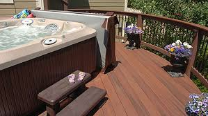 decks and hot tubs what you need to know before you build deck talk Wiring Outdoor Jacuzzi how to determine the ideal spa location wiring outdoor spa