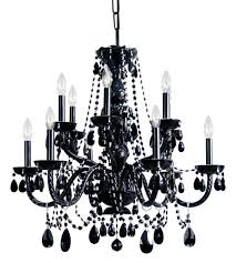 crystorama 1135 bk bk mwp traditional crystal 12 light 31 inch black chandelier ceiling light