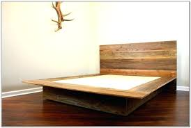 Bed Frame ~ California King Wood Bed Frame Plans Rustic California ...