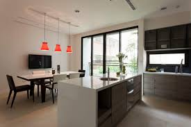 Modern Kitchen Living Room Kitchen Living Room Dining Floor Affordable Great Home Dining Room
