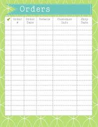 Blank Order Sheet - April.onthemarch.co