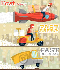 i need flyers made fast fast food and pizza delivery flyers in flat style by alfazetchronicles