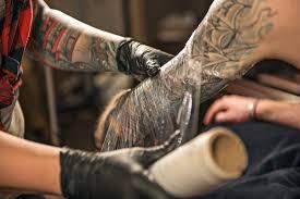 заживление тату этапы заживления тату Tattoo Mall