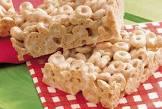cheerios marshmallow bars
