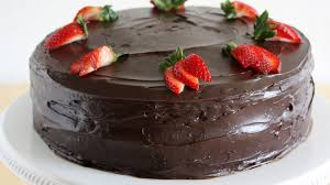 Dark Chocolate Covered Strawberry Cake Recipe Bettycrockercom